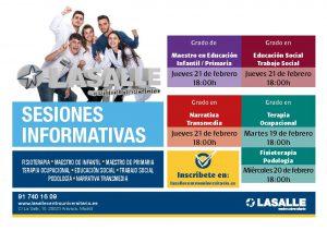 YA PUEDES INSCRIBIRTE EN LAS SESIONES INFORMATIVAS PARA CONOCER LOS ESTUDIOS DE GRADO DE LA SALLE CAMPUS MADRID