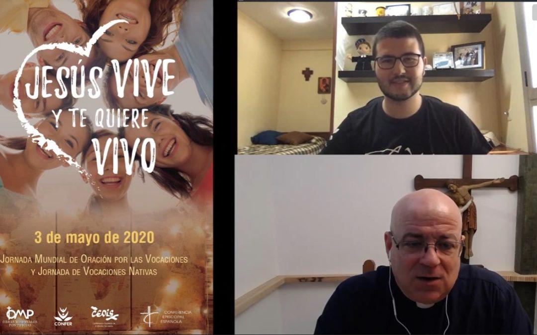 El Hermano Álvaro comparte su testimonio vocacional en 57ª Jornada Mundial de Oración por las Vocaciones y Jornada de Vocaciones Nativas